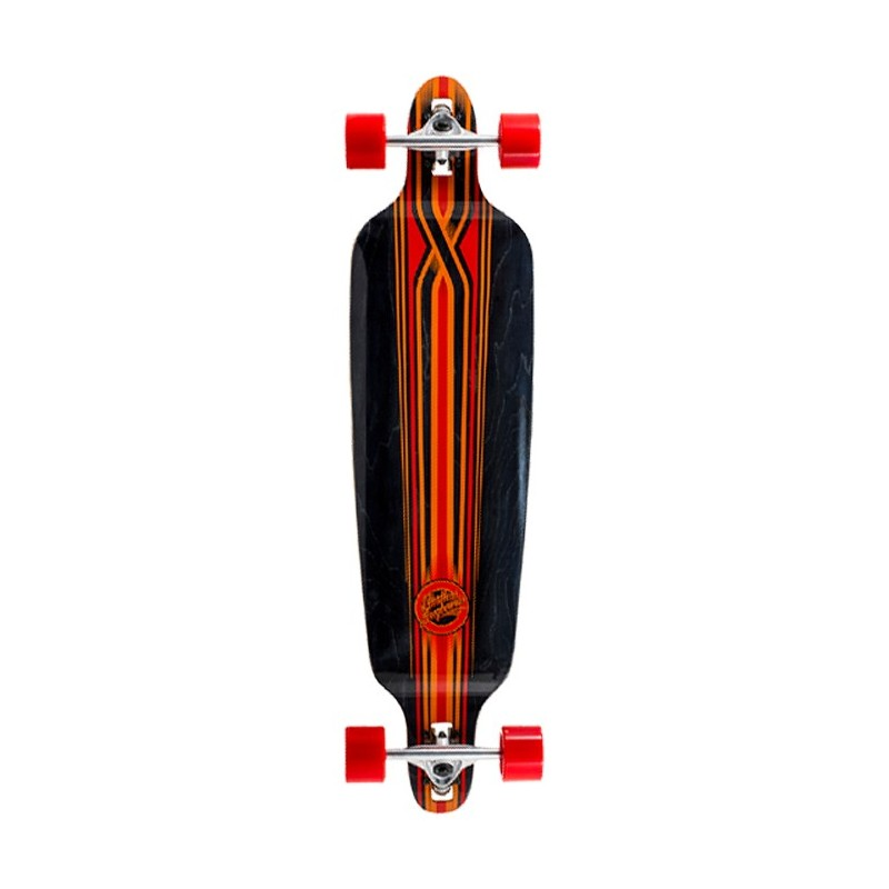 Mindless Savage III Longboard - Black/Red
