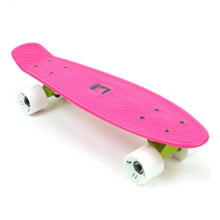 "RAM Old School Mini Cruiser 22"" - Dragonfruit Pink"