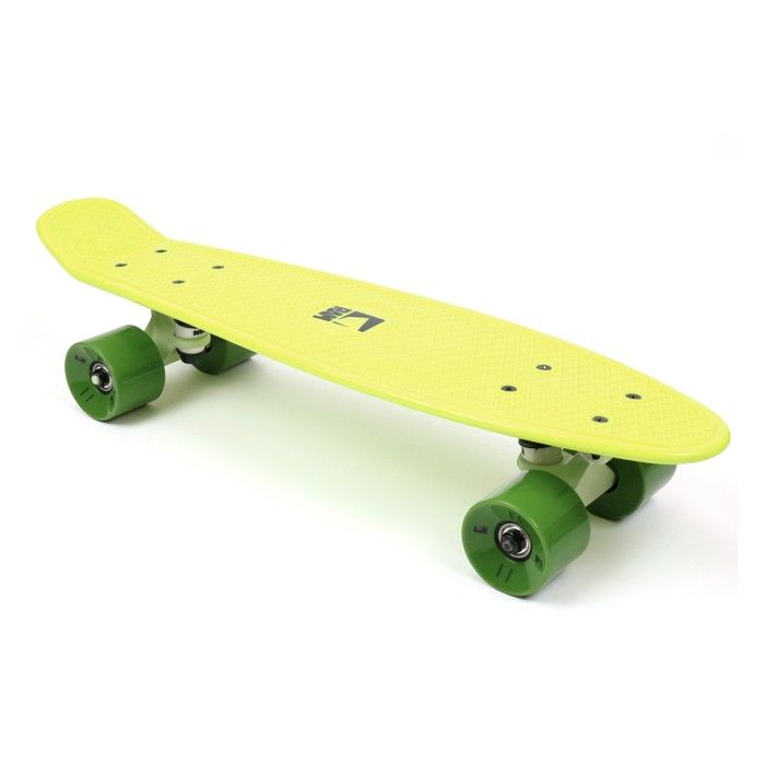 "RAM Old School Mini Cruiser 22"" - Lime Green"