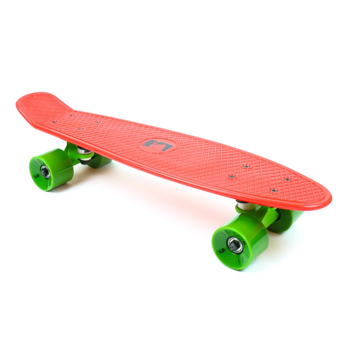 "RAM Old School Mini Cruiser 22"" - Strawberry Red"