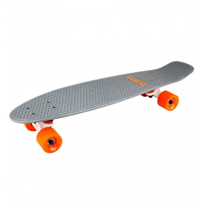 D Street Polyprop Grande Cruiser - Grey / Orange