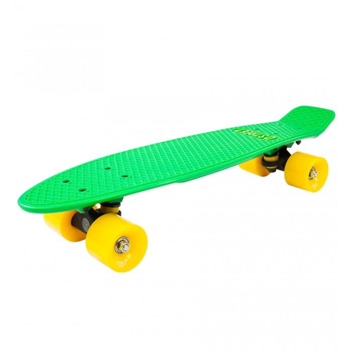 D Street 3rd Gen Polyprop Cruiser - Green / Yellow