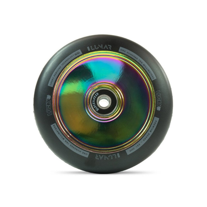 Lucky Lunar Hollow Core 110 mm Wheel - Neochrome