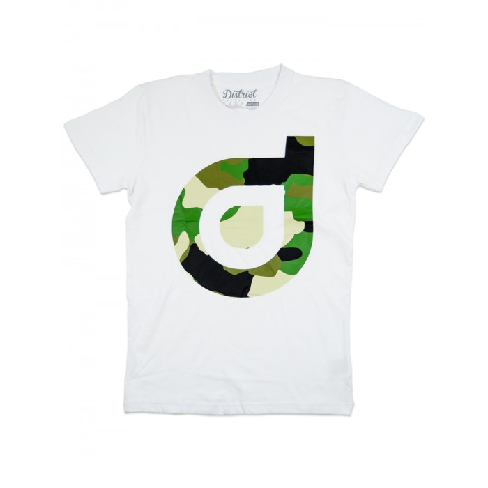 District Supply Co Hidden T-Shirt - White