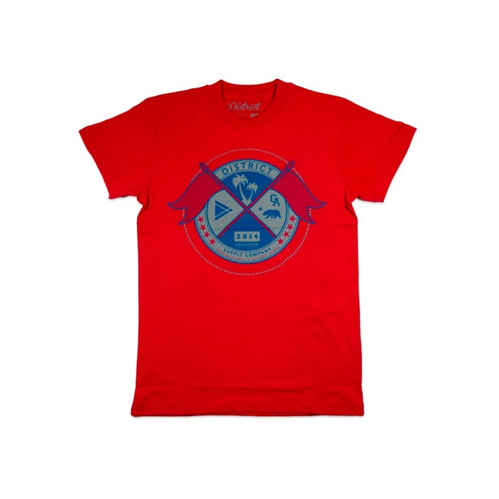 District Supply Co Seal T-Shirt - Red