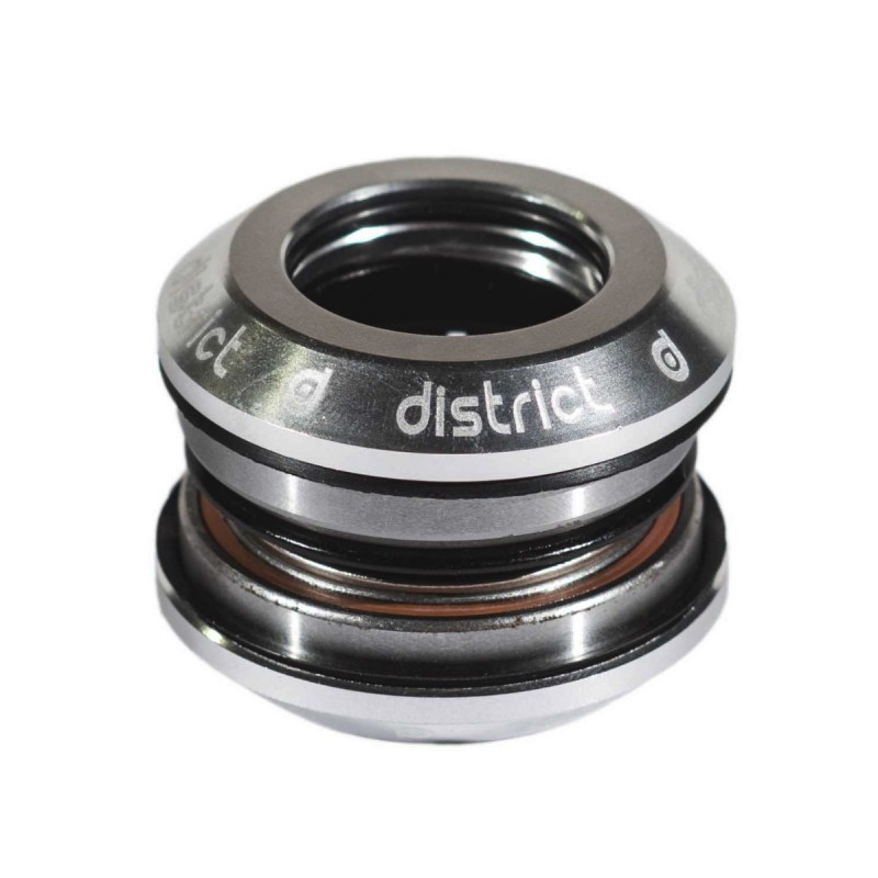District Integrated Headset V3 - with 25.4 topcap - Silver