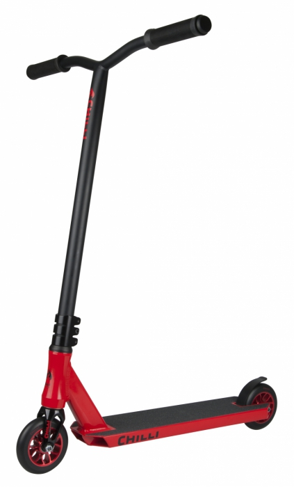 Chilli Fire Reaper Scooter - Black / Red