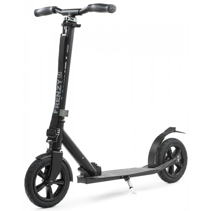 Slamm Frenzy 205mm Pneumatic Scooter - Black