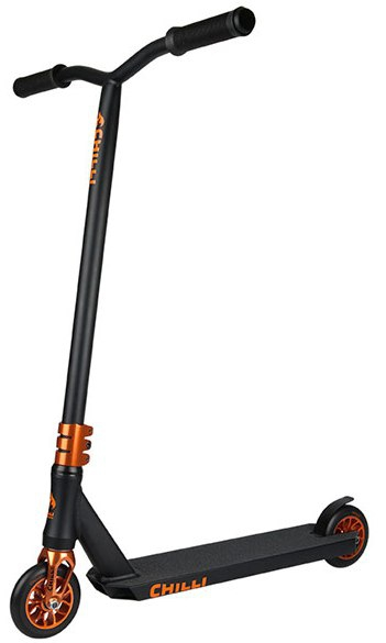 Chilli Sun Reaper Scooter - Black / Orange