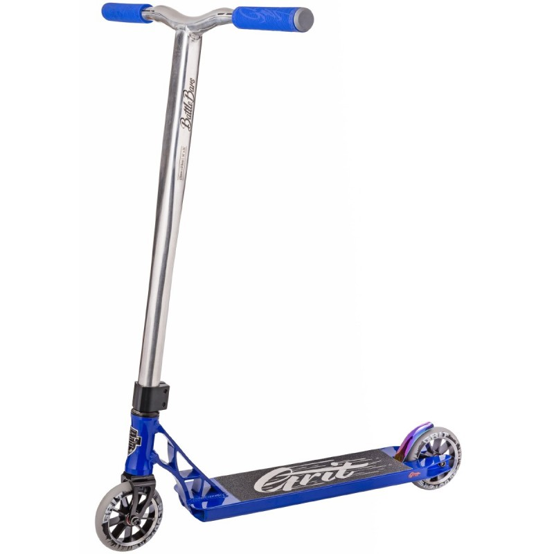 Grit Tremor Scooter - Blue / Polished