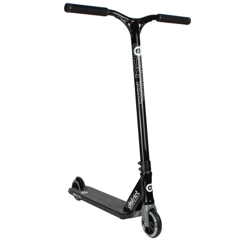 District C-Series C152 2018 Scooter - Black / Black