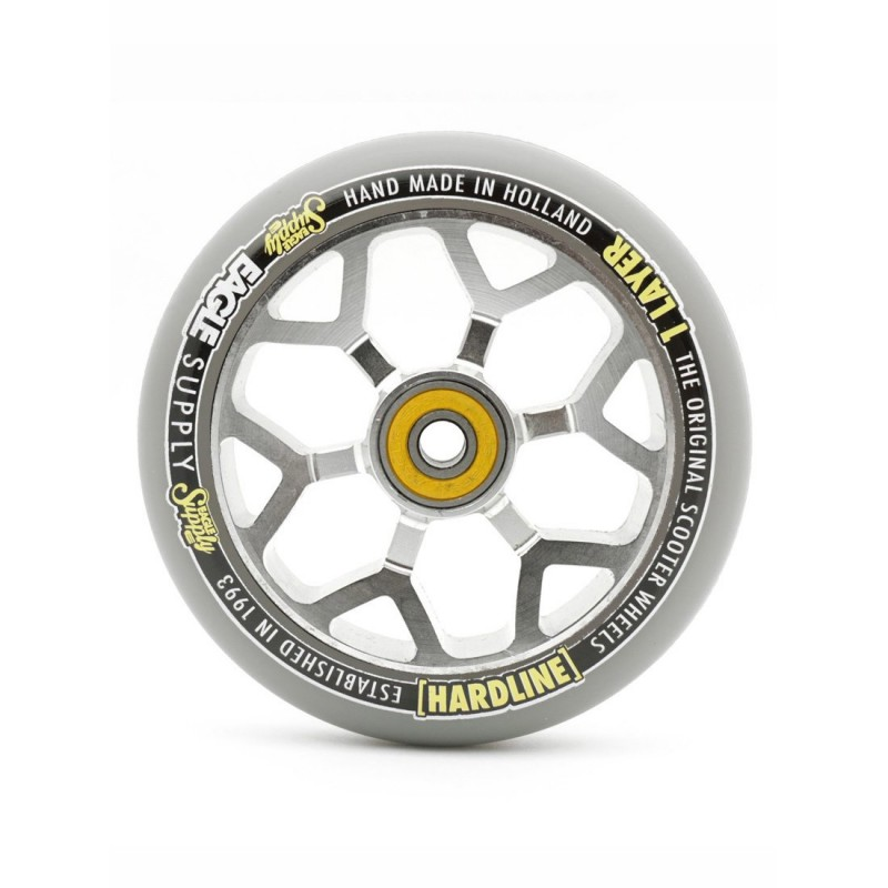 Eagle Supply Hardline 6M Wheel 110mm - Sewercap/Silver