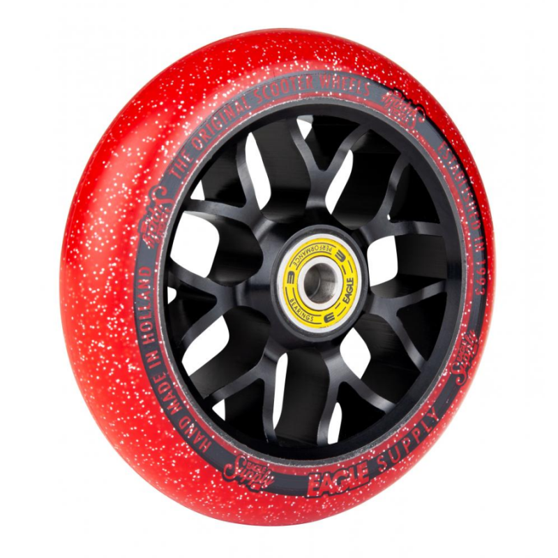 Eagle Supply Standard Line X6 Candy Wheel 110mm - Red