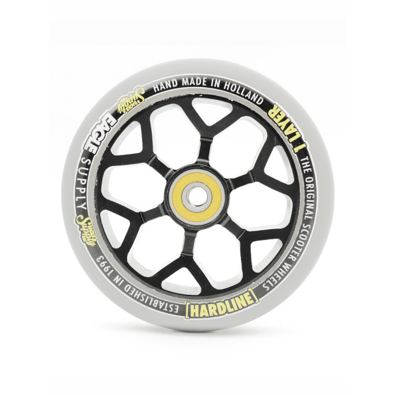 Eagle Supply Hardline 6M Wheel 110mm - Snowballs/Black