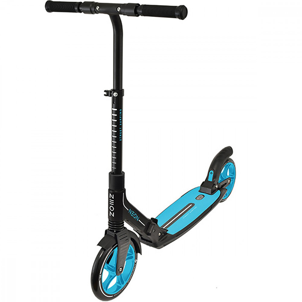 Street Surfing Neon Scooter - Black / Blue
