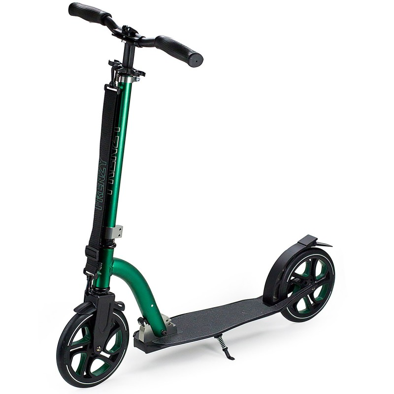 Slamm Frenzy 215 mm Scooter - Green
