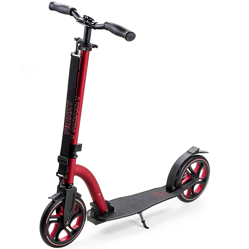 Slamm Frenzy 215 mm Scooter - Red