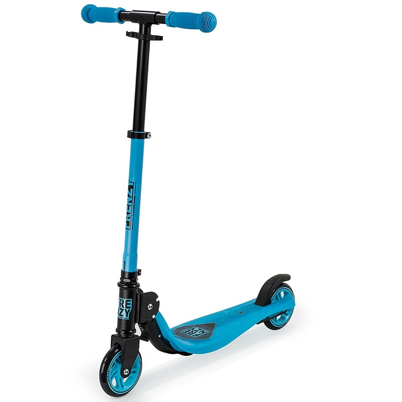 Slamm Frenzy Junior 120mm Scooter - Blue