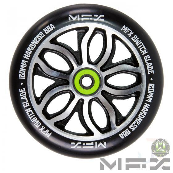 MGP MFX RWilly Switchblade 120mm Wheel - Black