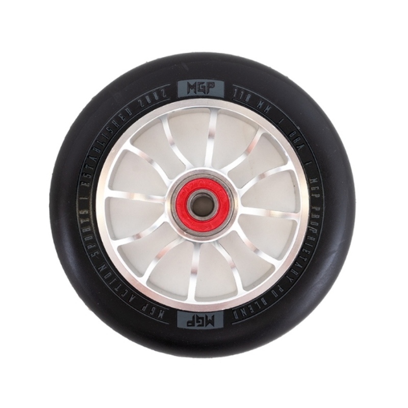 MGP Shredder 110mm Wheel - Silver/Black