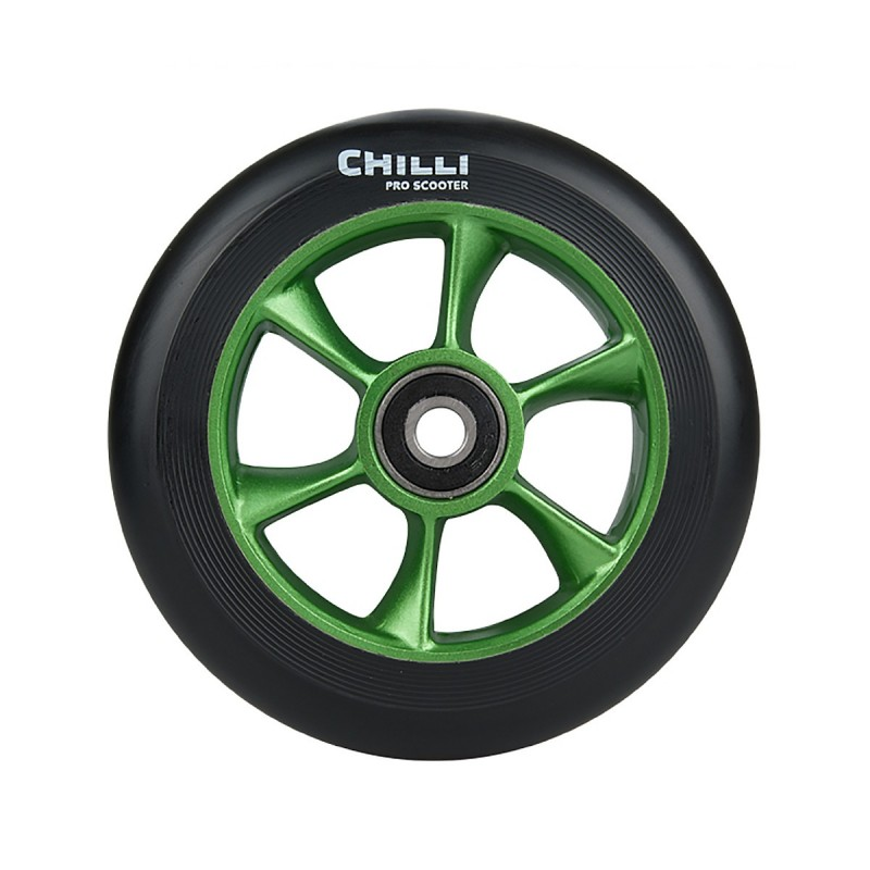 Chilli Turbo 110 mm koliesko zelené