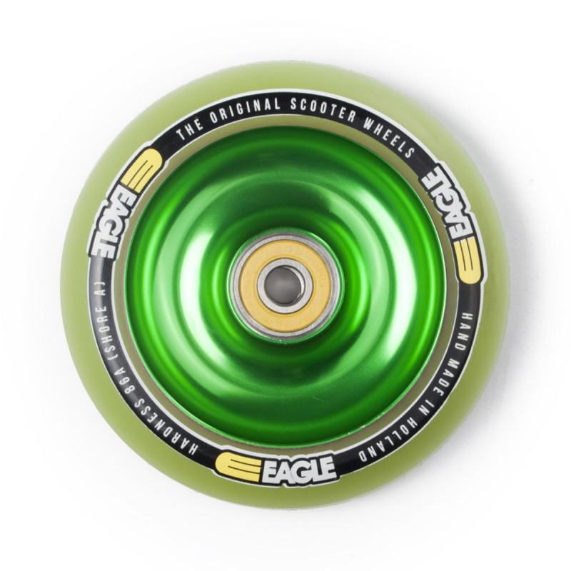 Eagle Sport Green Fullcore Wheel 100mm - Green