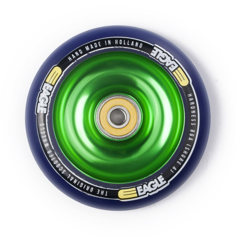 Eagle Sport Green Fullcore Wheel 100mm - Blue