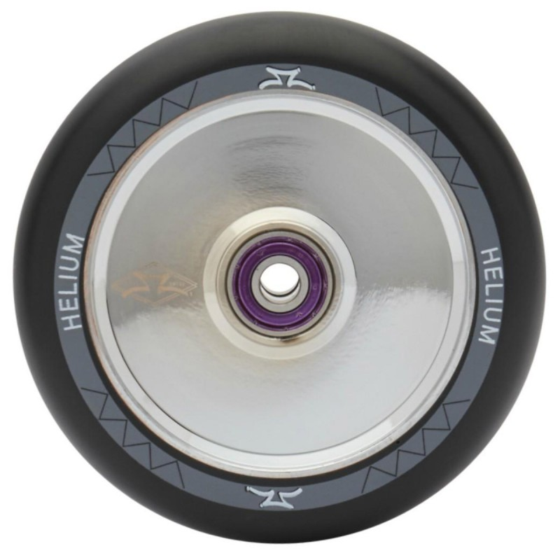 AO Helium 110 mm Wheel - Silver