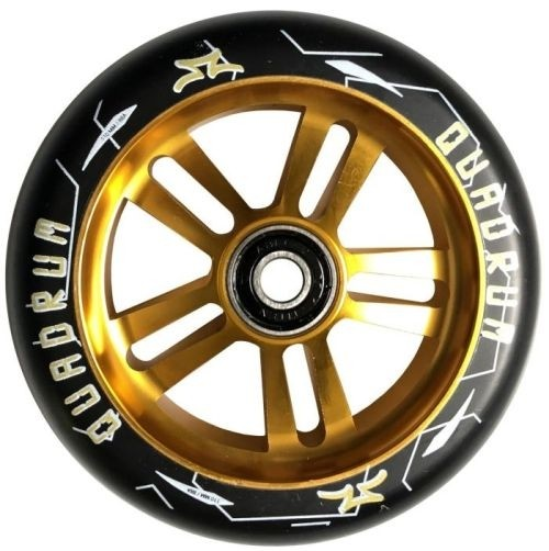 Kolieska AO Quadrum 10-stars 100 mm Wheel - Gold