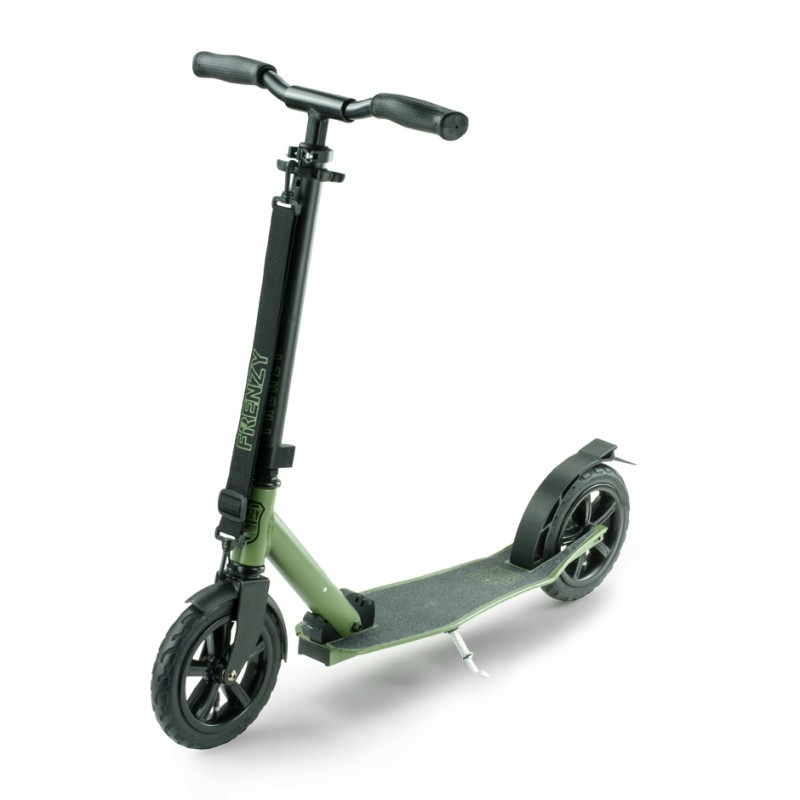 Slamm Frenzy 205mm Pneumatic Scooter - Military