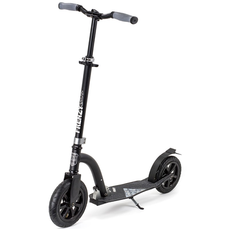 Slamm Frenzy 230mm Pneumatic Scooter - Black