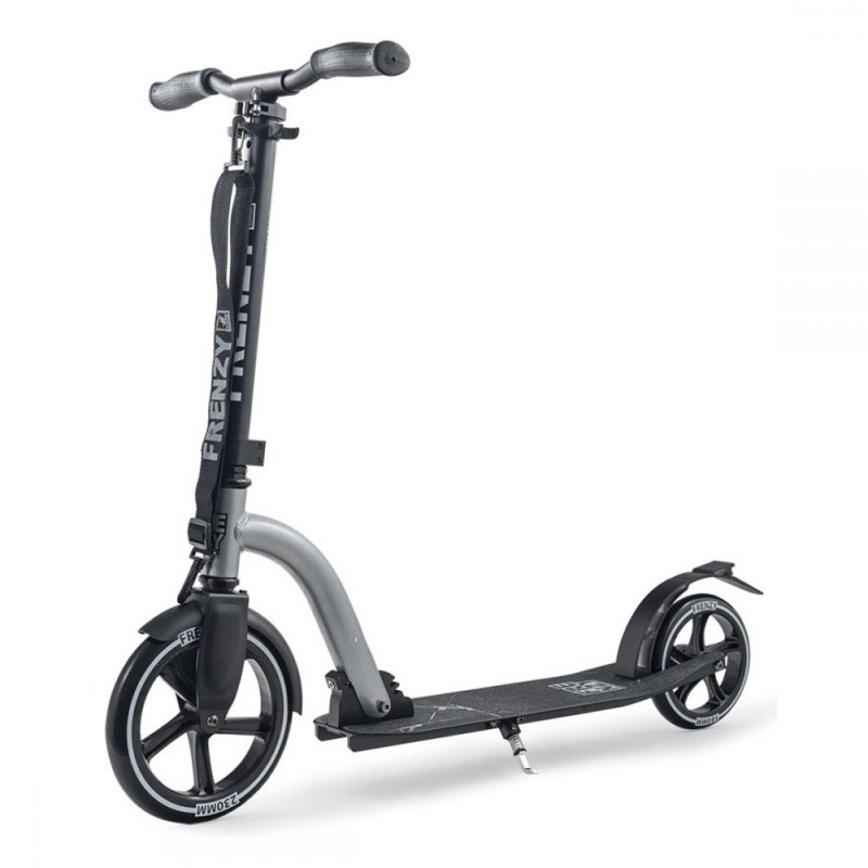 Slamm Frenzy 230mm Scooter - Silver