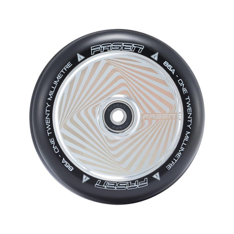 Fasen Hypno Square 120 mm Wheel - Chrome