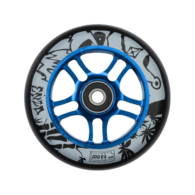AO ENZO 2 100mm Wheel - Blue