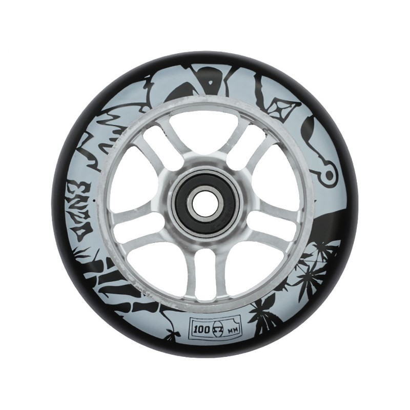 AO ENZO 2 100mm Wheel - Silver