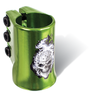 MGP Hot Head oversized triple clamp - GREEN