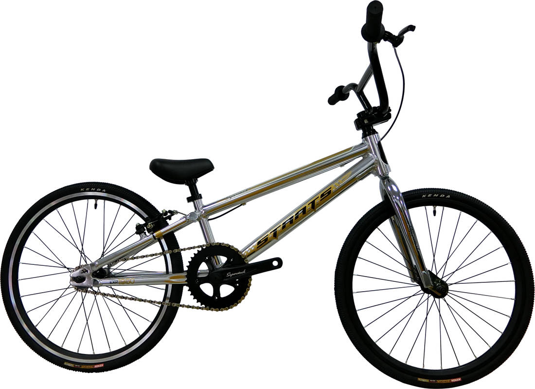 Staats Superstock Expert Race BMX Bike - Chrome