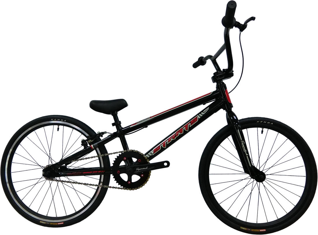 Staats Superstock Expert Race BMX Bike - Black