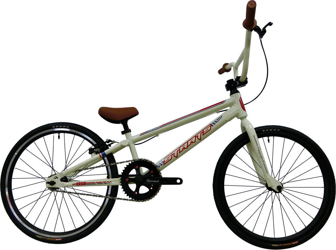 Staats Superstock Expert Race BMX Bike - White