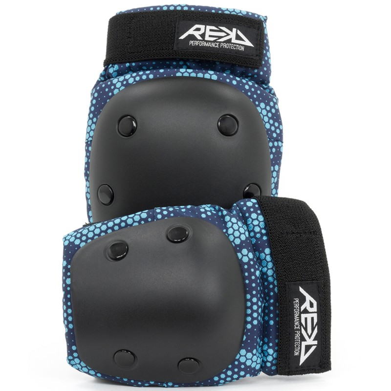 Sada chráničov - Rekd Youth Heavy Duty Double Pad Set - Blue