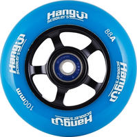 HangUp Alu Core 100mm Pro Scooter Wheel - modré