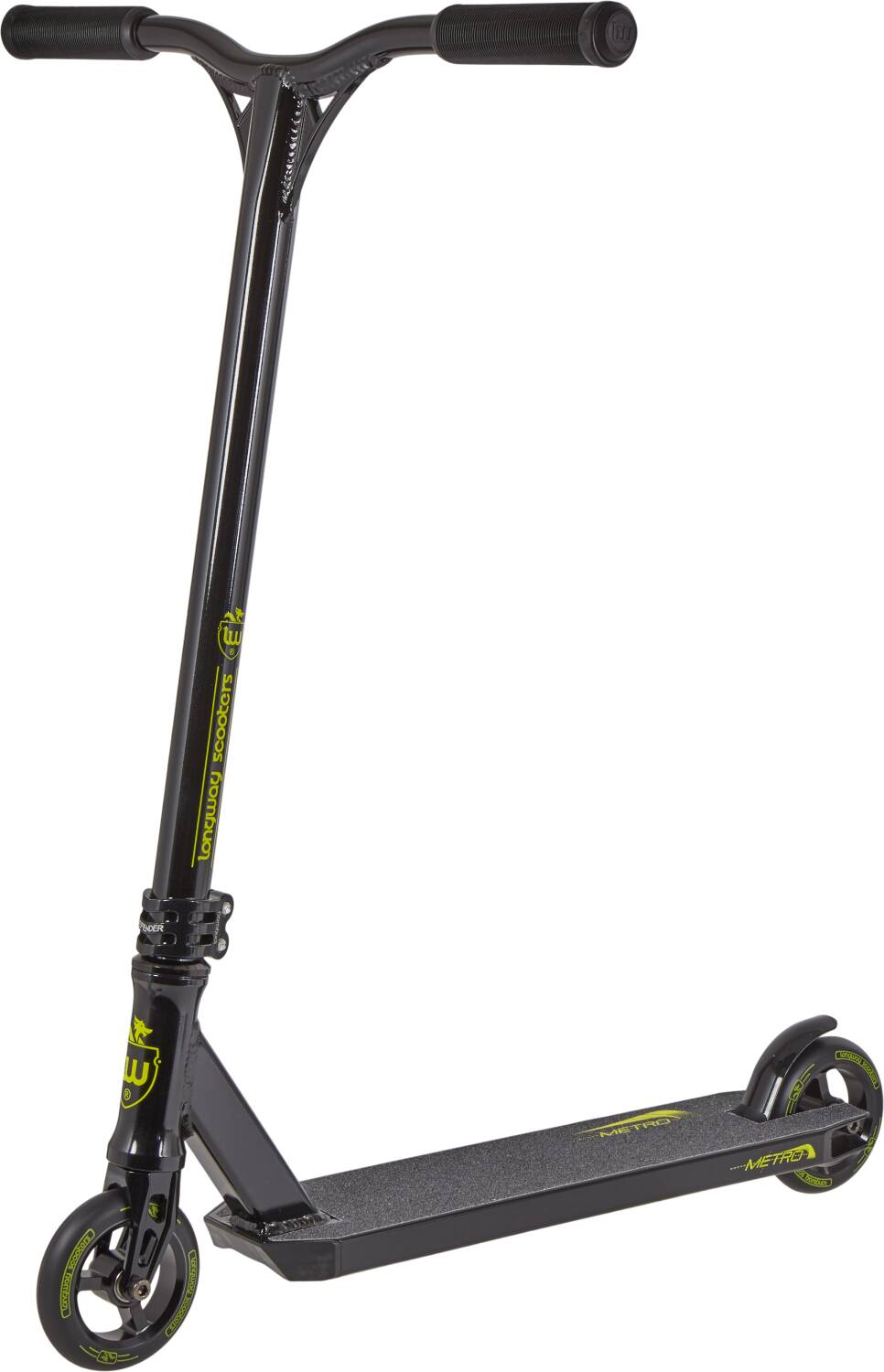 Longway Metro 2K19 Pro Scooter - Black/Yellow