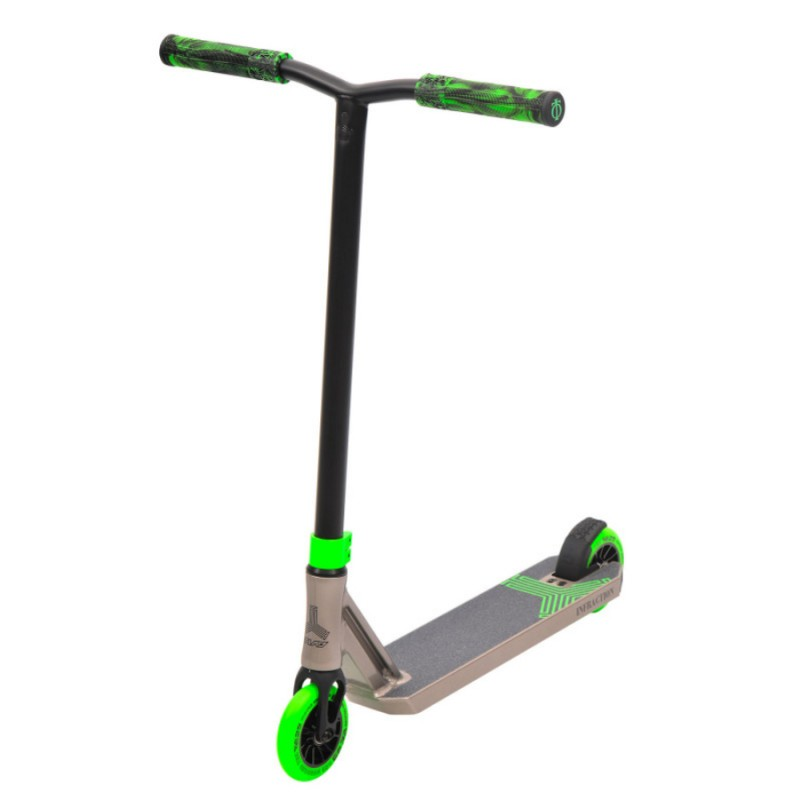 Triad Infraction Scooter - Titanium/Green
