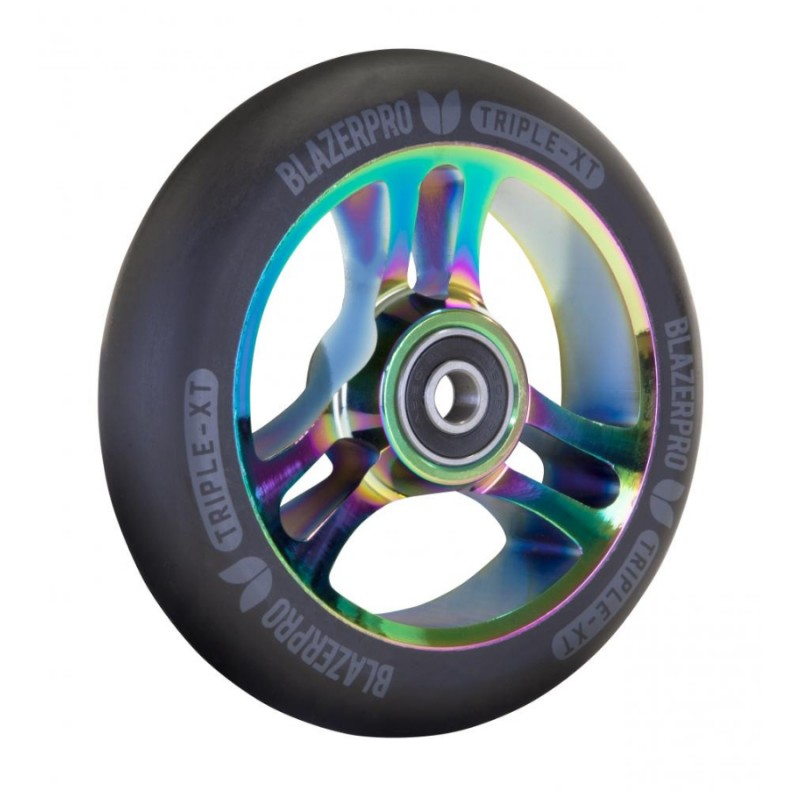 Blazer Pro Triple XT Wheel 110mm ABEC 9 - Black/Neochrome 1 ks
