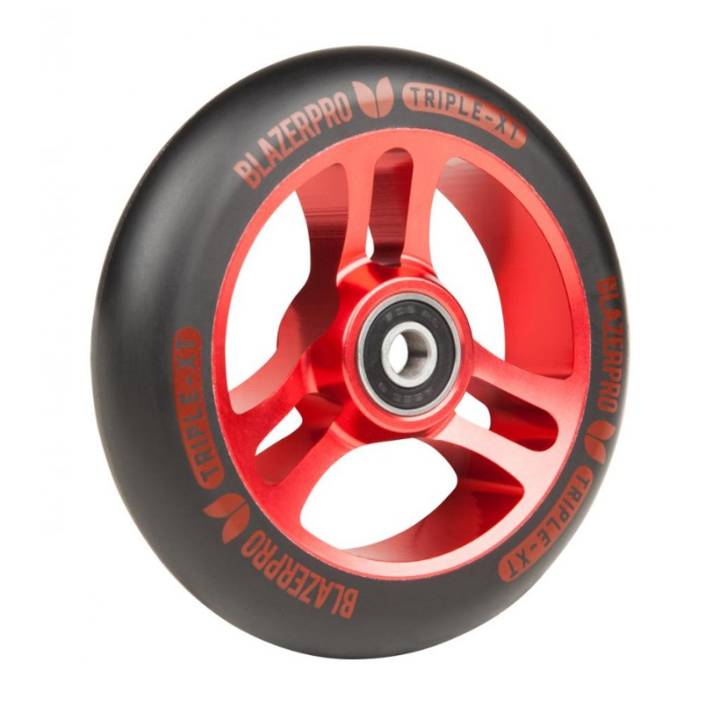 Blazer Pro Triple XT Wheel 110mm ABEC 9 - Black/Red 1 ks