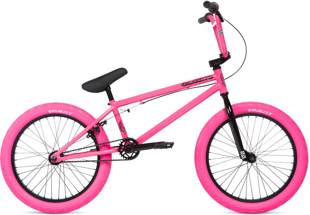 "Stolen Casino 20"" 2020 BMX Freestyle Bike - Candy Pink"