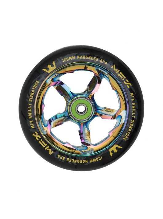 MGP MFX RWilly Hurricane Signature 120mm Wheel - Black / Neochrome