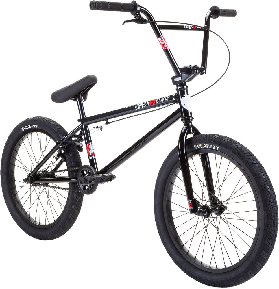 "Stolen Overlord 20"" 2021 BMX Freestyle Bike - Sabbath"