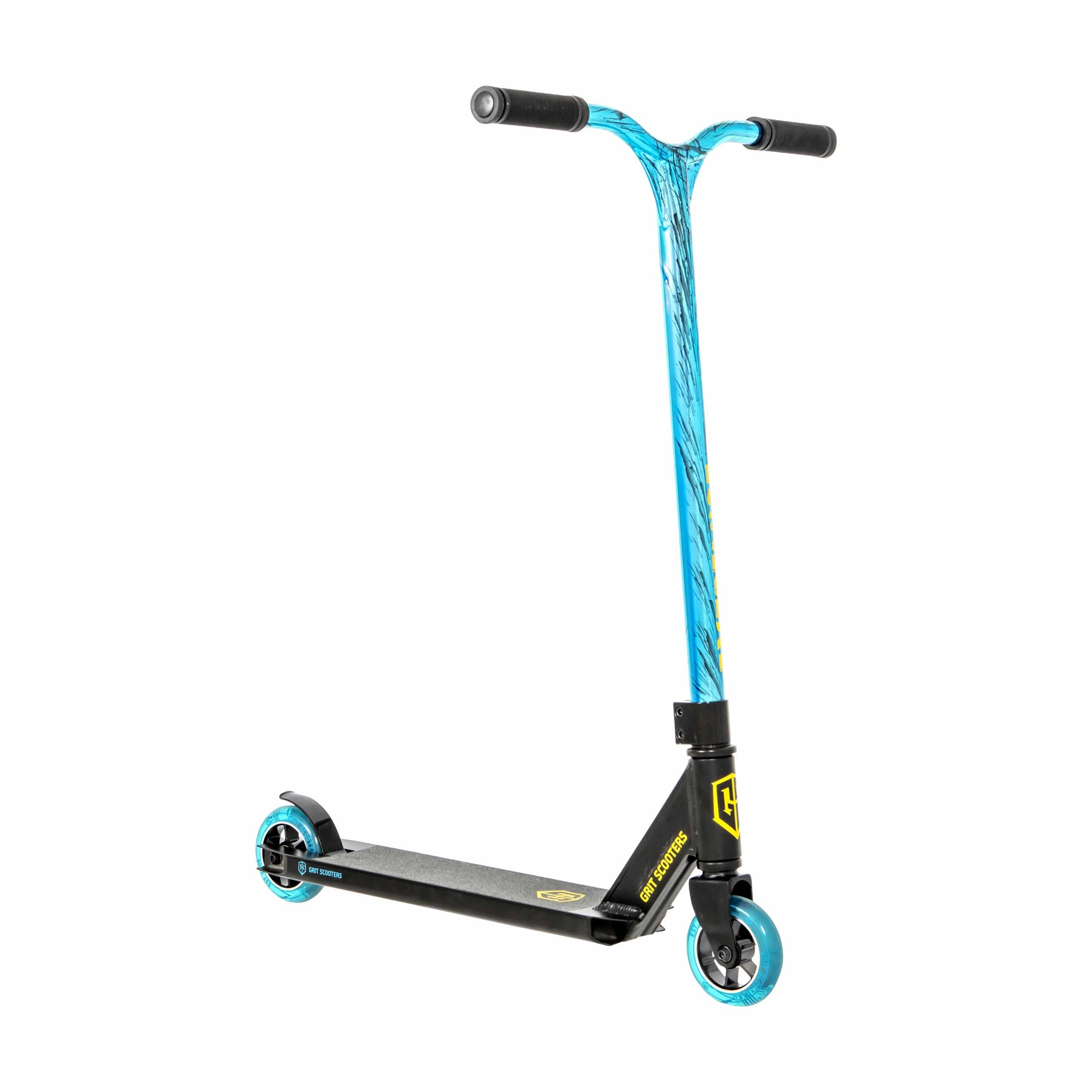 Grit Extremist 2021 Scooter - Black/Vapour Blue Black Laser