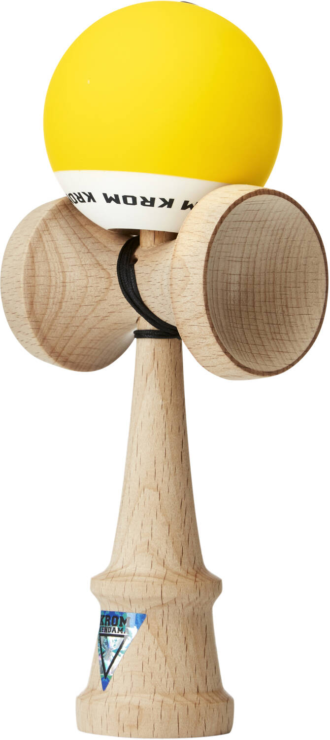 KROM Pop Kendama - Yellow